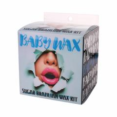 BABY WAX SUGAR BRAZILIAN WAX KIT
