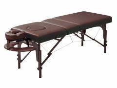 ネチュラReclining Memory(リクライニングメモリー) 脚部:ウォルナット 木製折り畳みベッド 枕3点セット付き マッサージ ベッド