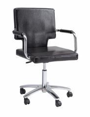 ビジターチェア V50 FV-5927 キャスター付き 椅子 エステスツール キャスター スツール 診察椅子 回転椅子 エステ 椅子