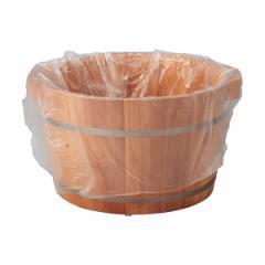ECO ビニール袋 (足浴桶用) Mサイズ 100枚 ビニールシート 足浴器 足浴桶 足湯器 足湯桶 フットバス器 フットケア