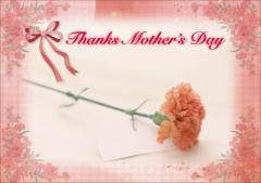 ペーパー・ランチョンマット『Thanks Mother's Day』 10枚入 (B4版)  LUN-295
