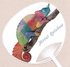 ハ虫類大好きうちわ『熱帯 RAINBOW』   UCW-201