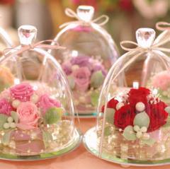 母の日 プリザーブドフラワー ギフト ガラスドーム エレガンス 贈り物 誕生日 プレゼント お祝い 母の日ギフト ブリザーブドフラワー 女