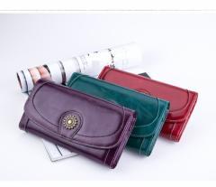 6fd46768f211 大容量 レディース 財布 復古 長財布 レディース 牛革高級長財布 女性用 長い財布
