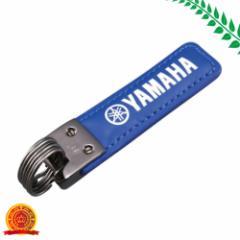ヤマハ(YAMAHA) スクウェアキーホルダー YAK18 BL 90792-K0042[ゆうパケット対応商品][代引選択不可]