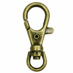キーフック 亜鉛製 DCHK42 アンティークゴールド 1個 フック キーフック レバーナス 金具 真鍮古美