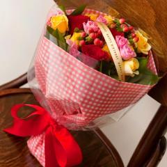 キューティローズ(バラミックス花束)誕生日プレゼント 女性
