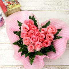 花とセット 母の日 ピンクハート(ハート型バラギフトアレンジ) 誕生日プレゼント 女性 母親 彼女 バースデープレゼント お誕生日プレゼン