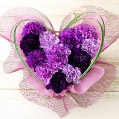 花とセット 母の日  ムーンダストハート 花 生花 フラワー ギフト アレンジメント
