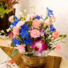 誕生日プレゼント 女性 デュマン(バラアレンジメント) 【女性 母親 誕生日祝い 誕生日ギフト バースデープレゼント】