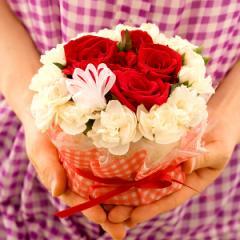 フラワーケーキ 誕生日プレゼントに最適!キュートなフラワーケーキ・サフィール 誕生日プレゼント 女性 母 誕生日ギフト