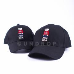 海外限定 US BEAR CAP ポロベア サンプリング スナップバック / ベースボール キャップ 熊 クマ 帽子 / メンズ レディース 55-60cm / CAP