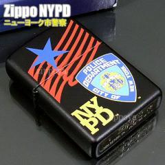 ZIPPO ジッポ ライター NYPD - Badge,Star and Flag ニューヨーク市警察 内部のユニット彫刻無料 20487