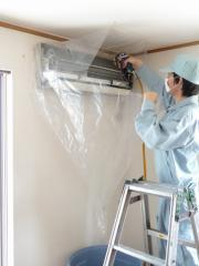壁掛用 エアコン洗浄カバー KB-8016 洗浄シート クリーニングシート