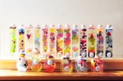 送料無料 ハーバリウム 自由に選べる2点セット!!  ギフト プレゼント インテリア ドライフラワー Moon・Candy・Forest・Fantasia・Drop