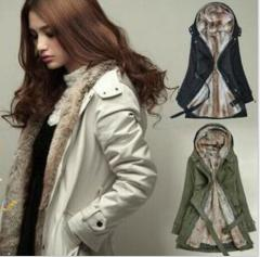 モッズコート レディース ミリタリーコート 裏ボア あったか モッズジャケット 中綿コート ロング 厚手 暖かい 羽織り 冬服 大きいサイズ