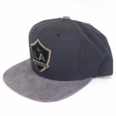 MLS サッカー LA ギャラクシー スエード キャップ/帽子 ミッチェル&ネス/Mitchell & Ness