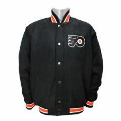 NHL フライヤーズ ジャケット ブラック ジースリー/G-III Contender Wool ジャケット