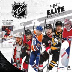 NHL 2018 エリート ウォール カレンダー ターナー/Turner【1804CLD】
