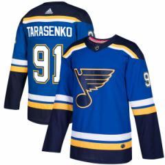 お取り寄せ NHL ブルース ウラジミール・タラセンコ オーセンティック プレイヤー ユニフォーム アディダス/Adidas ロイヤル