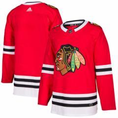 お取り寄せ NHL ブラックホークス オーセンティック ブランク ユニフォーム アディダス/Adidas レッド