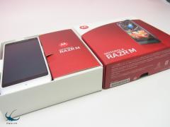 Softbank 送料無料■RAZR M 201Mホワイト美品白ロム