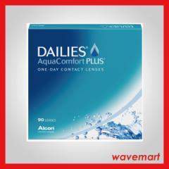 [Alcon DAILIES Aqua Comfort PLUS value pack (90seets/1pack)] (送料\432〜/処方箋不要) フォーカス デイリーズアクア コンフォートプ