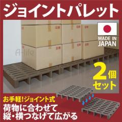 パレット プラスチック 2台セット 樹脂パレット 倉庫 ラック 倉庫 物置 物流機器 物流 倉庫 パレット パレティーナ