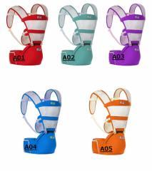 ベビースリング 抱っこひも 対象月齢0ヶ月〜36ヶ月 対面抱っこ/前向き抱き/おんぶ 手洗い可能 防風防塵 通気 出産祝い 多機能 シート付