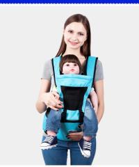 新生児抱っこ紐 対象月齢0ヶ月〜48ヶ月 ヨコ抱っこ/対面抱っこ/前向き抱き/おんぶ/腰抱っこ 手洗い可能 通気 ヒップシート付き スリング