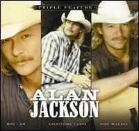 Alan Jackson / Triple Feature (Softpack) (輸入盤CD) (アラン・ジャクソン)