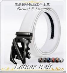 メンズ ベルト 本革 デザイン オートロック サイズ簡単調整 ビジネス レザー ゴルフ レザー バックル スポーツ 紳士 プレゼント