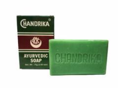 チャンドリカ ハーバルソープ CHANDRIKA AYURVEDIC SOAP 75g[INDIACOS]