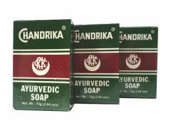チャンドリカ ハーバルソープ CHANDRIKA AYURVEDIC SOAP 75g 3個セット[INDIACOS]