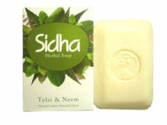 シダー ハ−バル ソープ SIHDH Herbal Soap Tulsi & Neem 75g [INDIACOS]