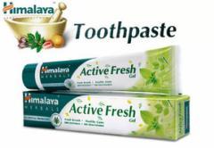 ヒマラヤ トゥースペイスト アクティブ フレッシュ(歯磨き粉)100g 4本セット Himalaya Active Fresh Toothpaste[INDIACOS]