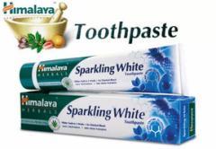 ヒマラヤ トゥースペイスト スパークリング ホワイト(歯磨き粉)100g  4本セット Himalaya Sparkling White Toothpaste[INDIACOS]