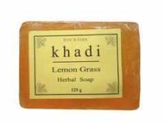 カーディ レモングラス ハーバルソープ Khadi Lemon Grass Herbal Soap