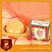 高純度白檀油配合 mysore マイソール サンダルソープ 150g 3個セット