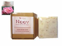 ニーブ OL ローズ ソープ NEEV Herbal OLIVE ROSE SOAP