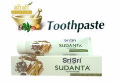 シュリ シュリ アーユルヴェーダ スダンタは磨き粉 100g Sri Sri Ayurveda sudanta toothPaste[INDIACOS]