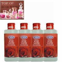 TOP OP ローズウォーター 600ml 4セット rose water 芳香蒸留水 フローラルウォーター フラワーウォーター アロマウォーター 化粧水