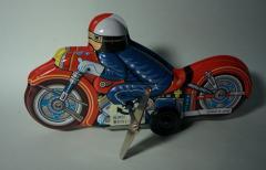 ブリキのオートバイ  ブリキおもちゃの老舗Buriki-yaからお送り致します。