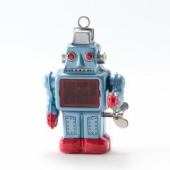 ブリキのスパーキング・ロボット(青) ブリキおもちゃの老舗Buriki-yaからお送り致します。