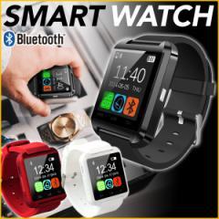 腕時計 スマートウォッチ ブラック Bluetooth 液晶ウォッチ smart watch 1.44インチ フルタッチ タッチパネル メール便 送料無料