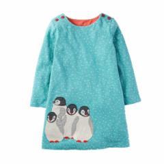 キッズワンピース ペンギン ヨーロッパ向けデザイン高級子供服ブランド W.L. Monsoon