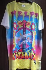 The Beatles ザ ビートルズ ピースマークプリント ロックTシャツ