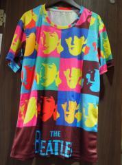The Beatles ザ ビートルズ ポップアート ロックTシャツ