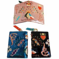 FLAPPER 刺繍パスケース