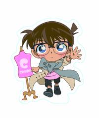 名探偵コナン 名探偵コナン×東京ガールズコレクション ステッカー(江戸川コナン/ウォーキング) 4515142283991